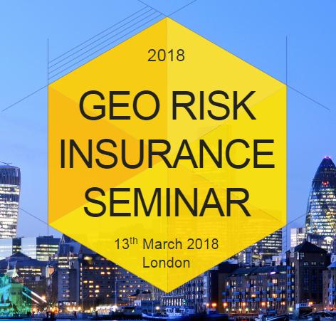 CONIAS at Geo Risk Insurance Seminar