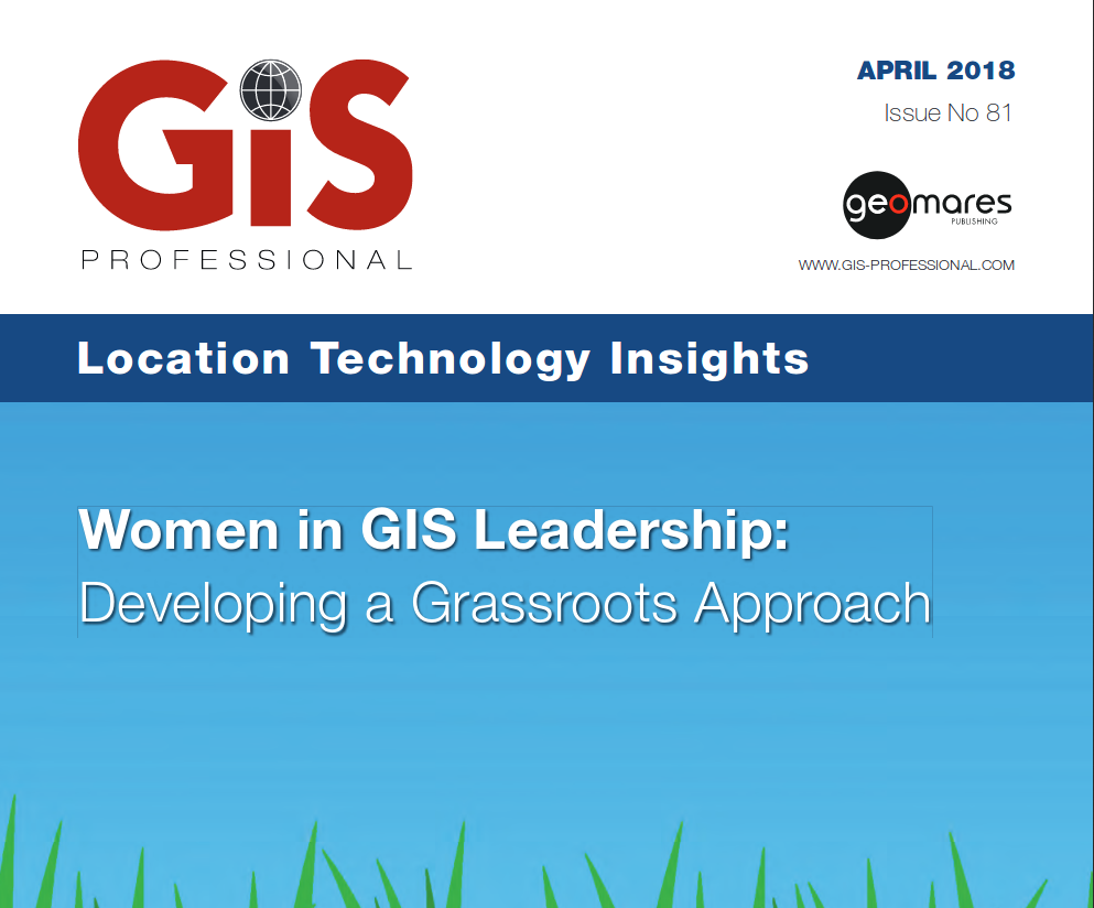 CONIAS Article in GIS Professional