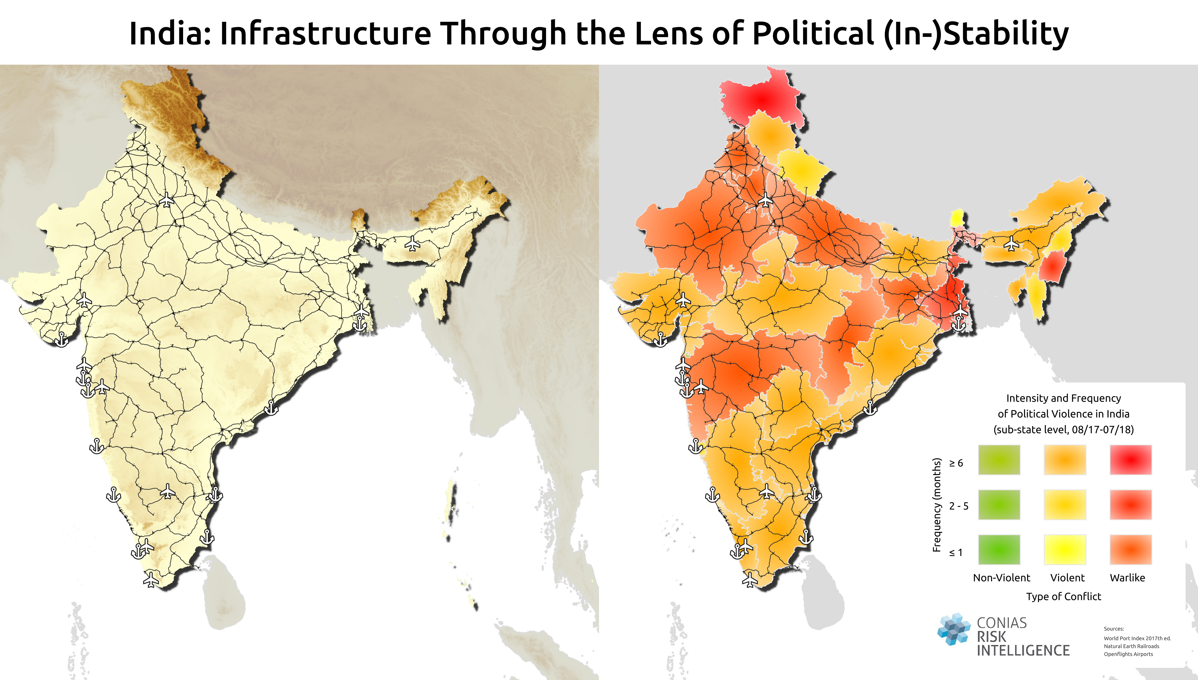 Politische Risiken Indien