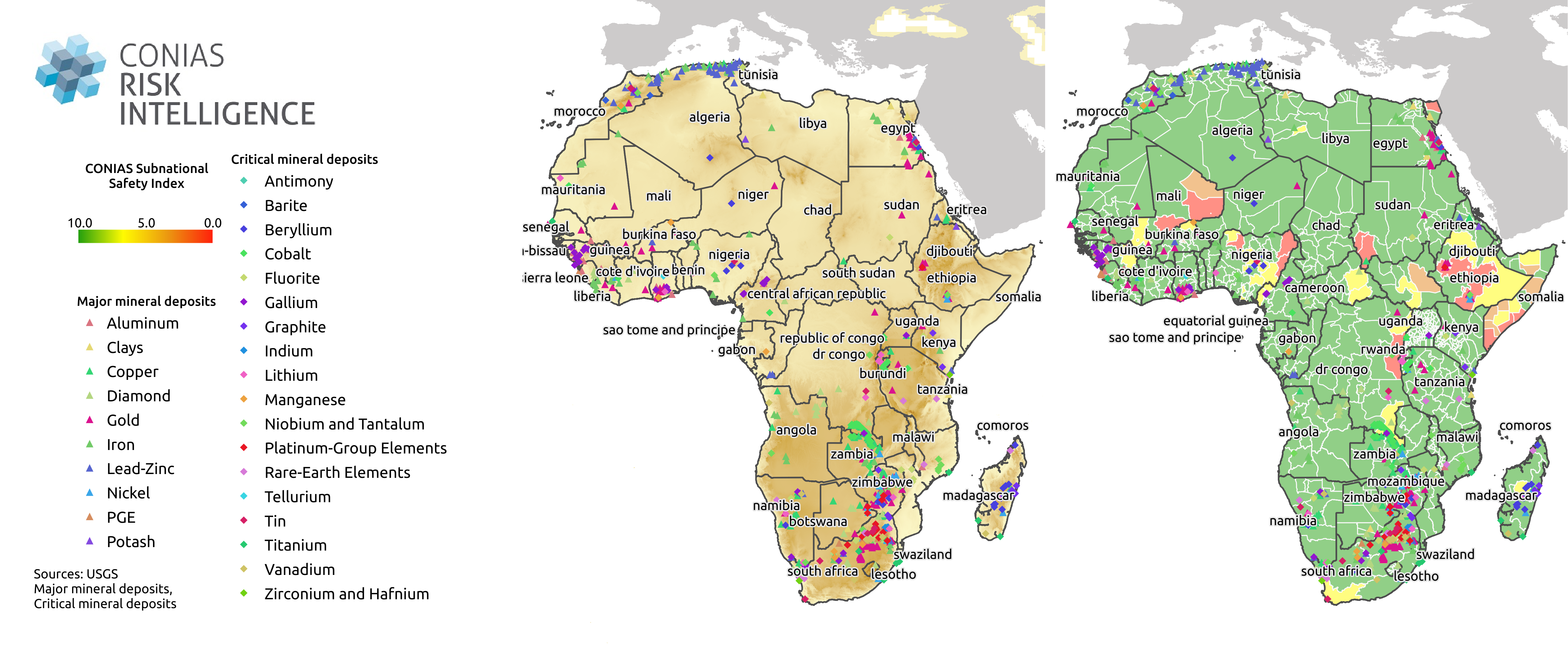 CONIAS Figure - Rare Earths on the African Continent