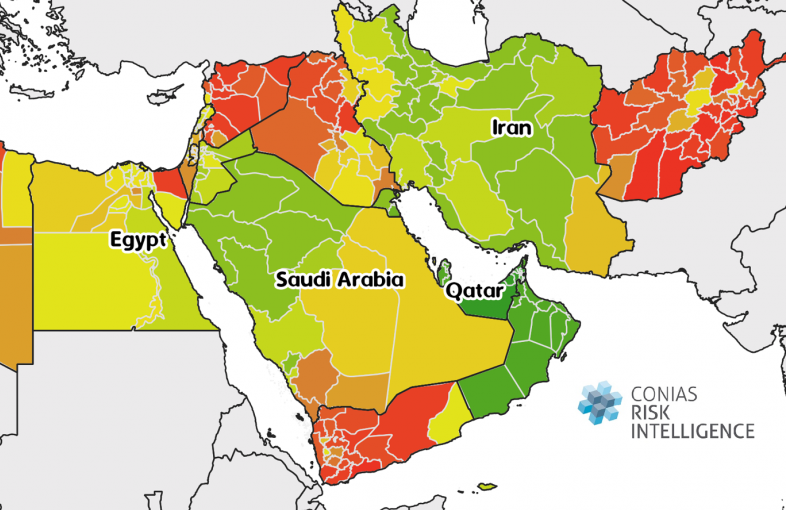 CONIAS SURE Resilience Index MENA Region